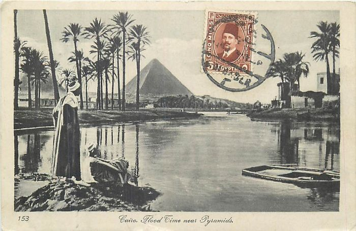 Egypt - Cities, Landscapes, scenes of life ... (Collection of 50) - 1900-1930