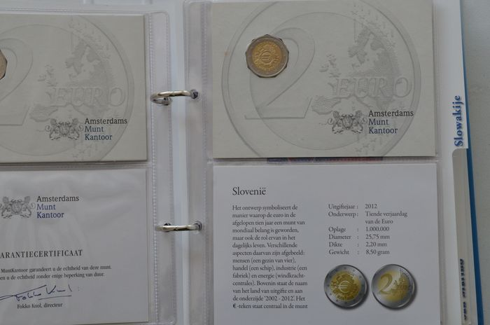 Europe. 2 Euro 2005/2017 Gelegenheidsmunten (21 stuks) in album