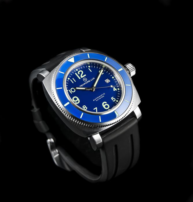 Tempore Lux - New V One Swiss Automatic 02 Blue - Uomo - 2020