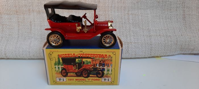 "Matchbox - 1/42 - Y1 Models of Yesteryear Ford ""T"" 1911"