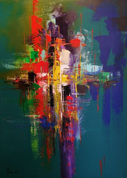 Alfred Anioł - Abstraction