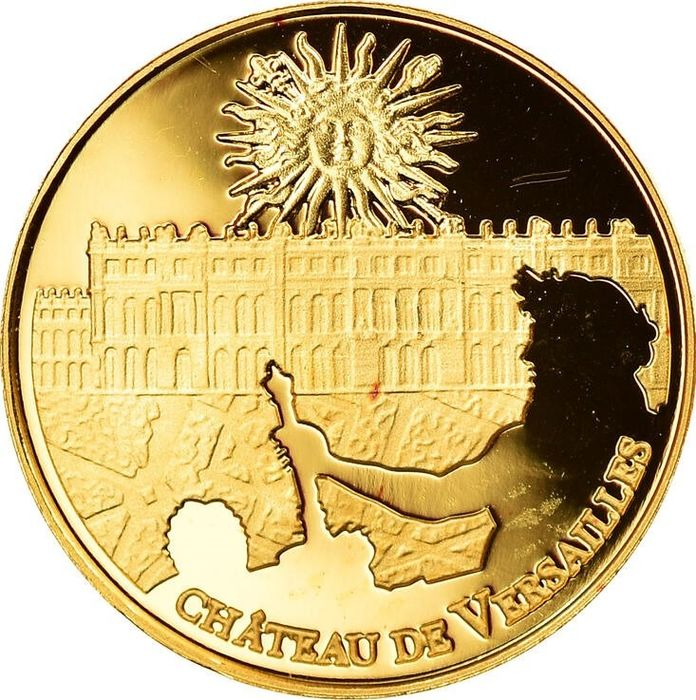 Frankrijk. 5 Euro 2011 'Palace of Versailles - UNESCO World Heritage' - with capsule