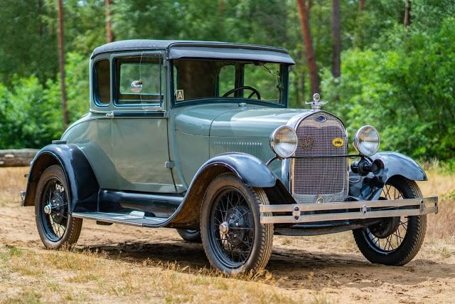 Ford USA - Model A Business Coupe - 1929