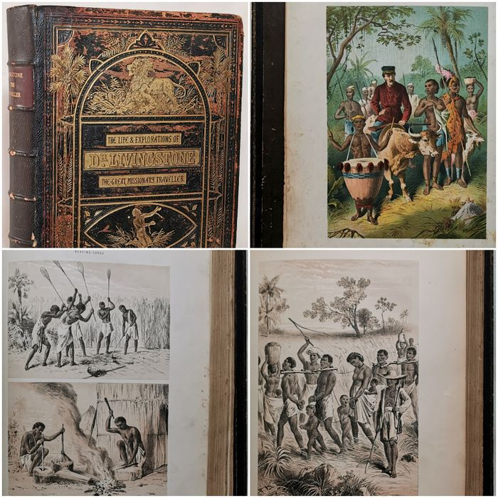 John S. Roberts - The Life and Explorations of David Livingstone, LL.D., The Great Missionary Traveller - 1875