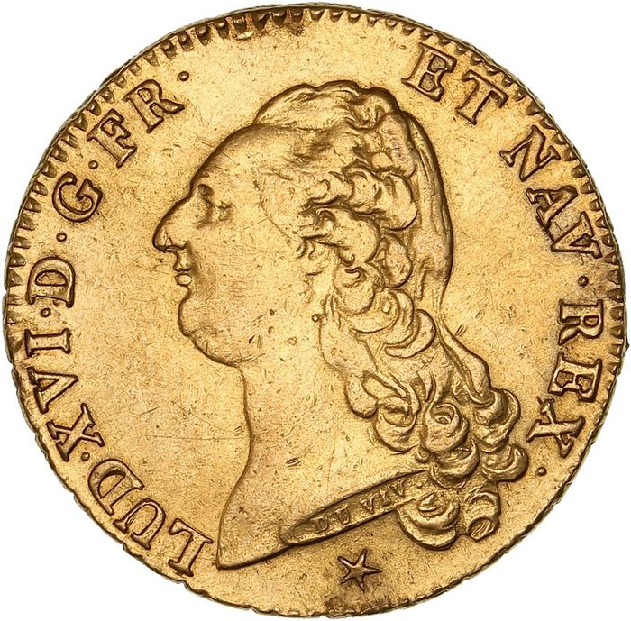 Francia. Luigi XVI (1774-1792). Double Louis d'or 1786-W, Lille
