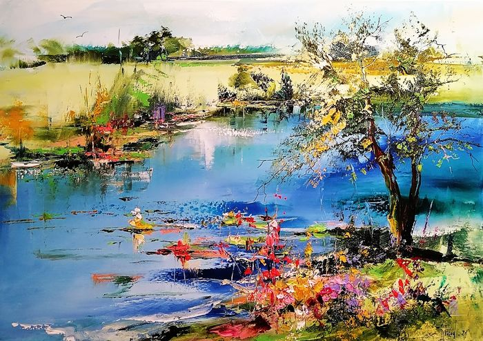 Alfred Anioł - By the river