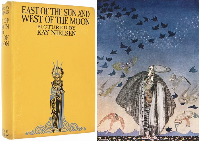 Kay Nielsen (illustrator) - East of the Sun and West of the Moon - 1923