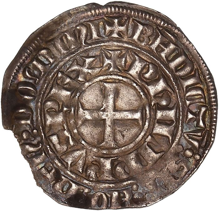 France. Philippe IV (1285-1314). Maille tierce