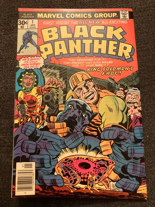 Black Panther 1 - Black Panther 1 First Print aus dem Jahr 1977 - First edition - (1977)