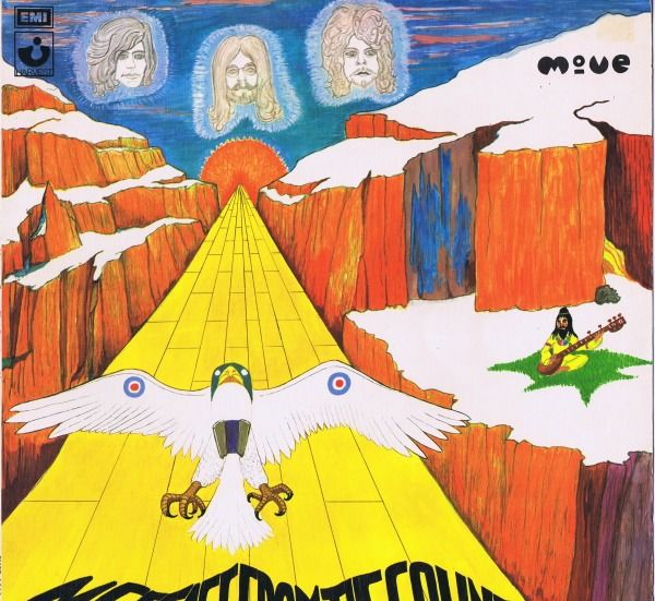 The Move - Message From The Country (Prog Rock, Pop Rock) - LP Album - 1971/1971