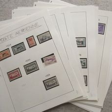 Frankrijk 1927/2011 - Airmail, a virtually complete collection of stamps