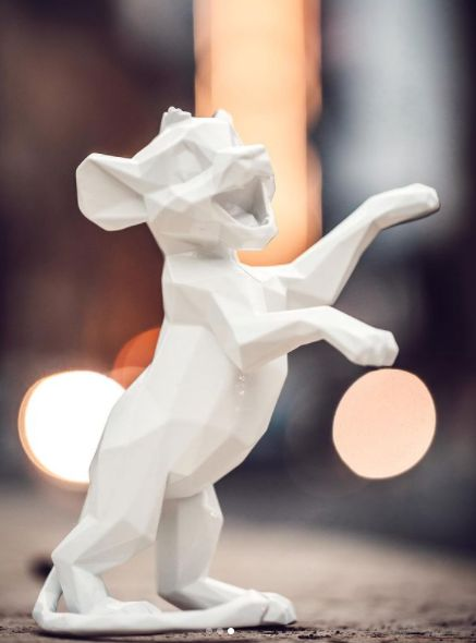 Richard Orlinski (1966) - SIMBA - White Edition - Sold Out - 4000 ex - BRAND NEW