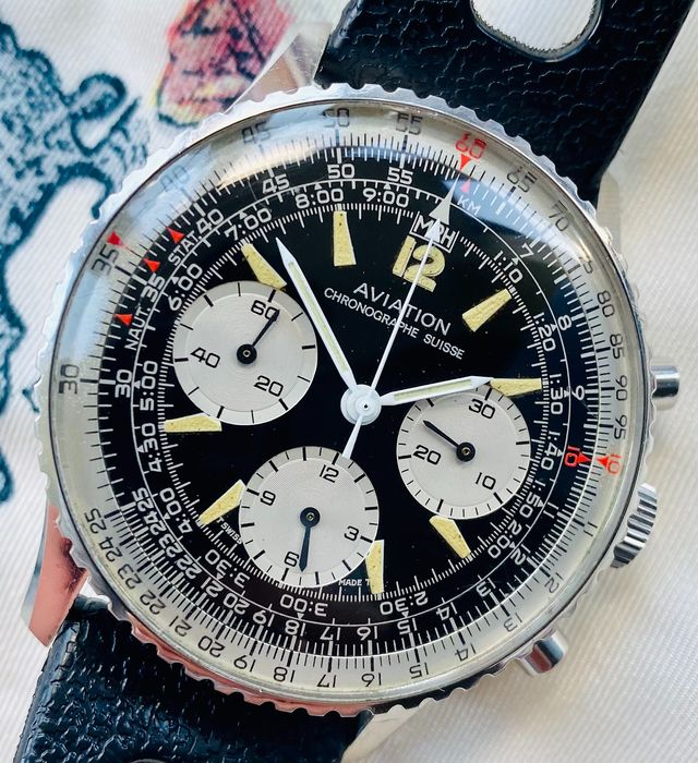 Ollech & Wajs - 806 Aviation Chronograph wristwatch - Heren - 1970-1979