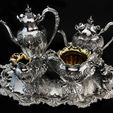 Silver Plated Object Auction