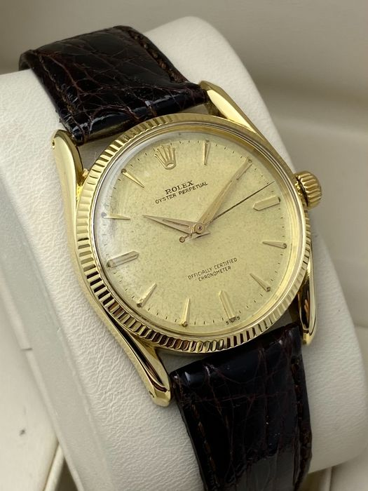 """Rolex - Oyster Perpetual 'Bombay' - """"NO RESERVE PRICE"""" - 6593 - Heren - 1950-1959"""