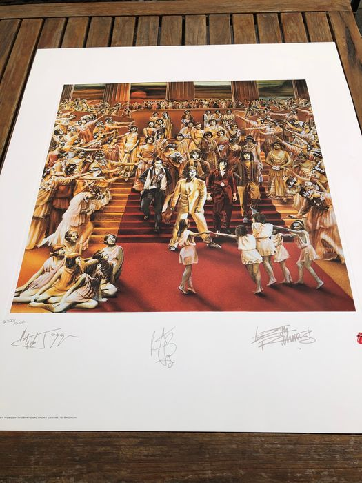 Rolling Stones - Its Only Rock 'N rOLL - Originale Lithographie - 1994/1994