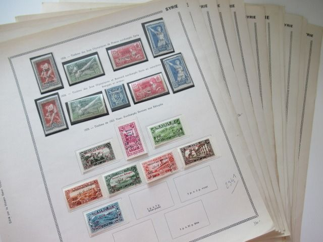 Syrien - Almost complete collection of stamps
