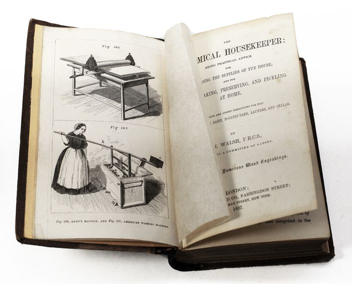 J. H. Walsh - The Economical Housekeeper - 1857