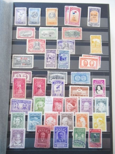 Panama - Very advanced collection of stamps