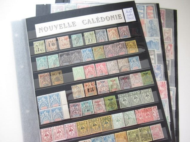 Neu-Kaledonien - Advanced collection of stamps.