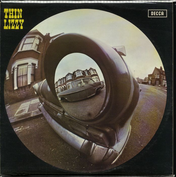Thin Lizzy - Self titled debute album w/ 'MacNeil Press' on cover in collectors condition - LP album - 1971