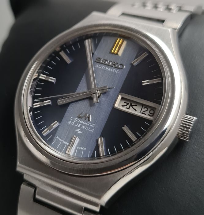"""Seiko - """"NO RESERVE PRICE""""  Lord Matic Special - 5206-6090 - Herren - 1970-1979"""