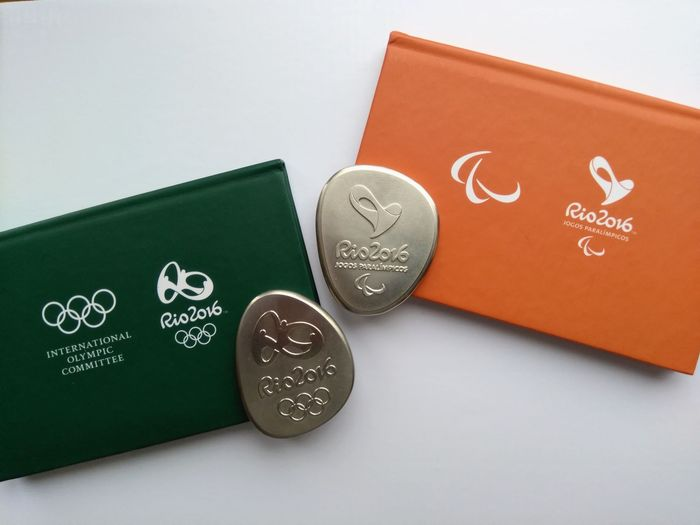 Rio 2016 - Olympic Games - Olympic & Paralympic participation medals