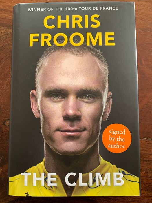 Cycling - Chris Froome - Book