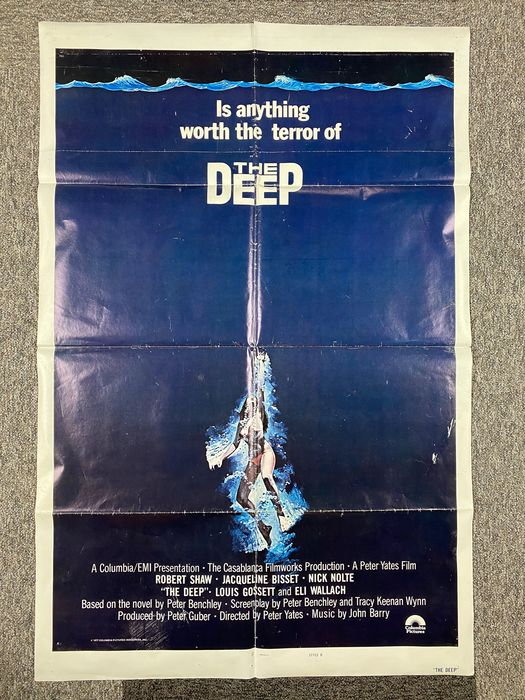 The Deep (1977) - Lot of 30 - see images and description - Robert Shaw, Nick Nolte, Jacqueline Bisset - Columbia Pictures - Foto, Lobby kaart, Poster, US & International - Original cinema releases