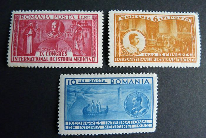 Roemenië 1932/1932 - With better Series