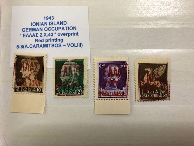 Greece 1886/1965 - Collection  with   Hermes Head  ,Ionian Island , ''Κ.Π'' & ''ΕΛΛΗΝΙΚΗ ΔΙΟΙΚΗΣΙΣ'' surcharges