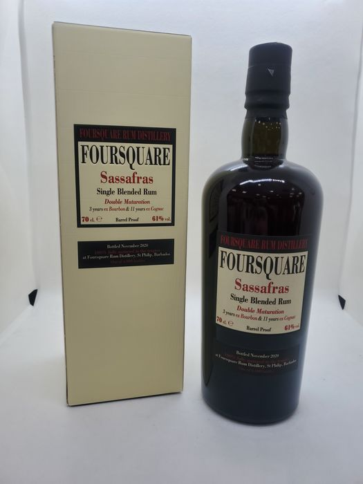 Foursquare 11 years old Velier - Sassafras - Double Maturation - b. 2020 - 70cl