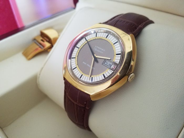 """Longines - Olympian High Frequency - """"NO RESERVE PRICE"""" - Uomo - 1970-1979"""