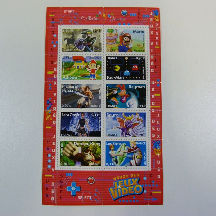 Super Mario / Rayman / Spyro - Postage Stamps (limited) (1)