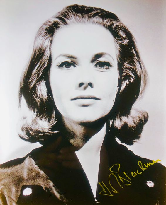 James Bond 007: Goldfinger - Honor Blackman (+) as Pussy Galore - Αυτόγραφο, Φωτογραφία, Signed with Certified Genuine b´bc holographic COA