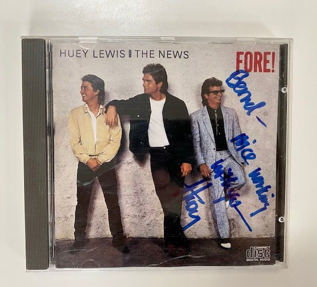 Huey Lewis and The News - Fore ! - CD - 1986/1986