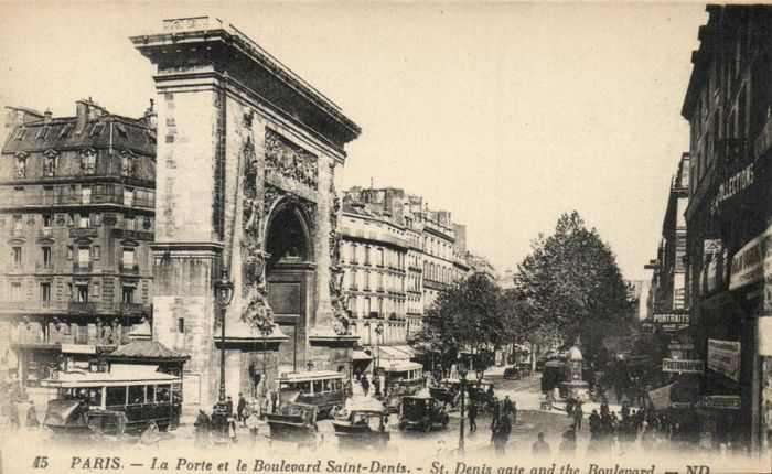 France - Box Paris - Various streets and sights - mostly from the center of the city - Postcards (Collection of 515) - 1900-1950