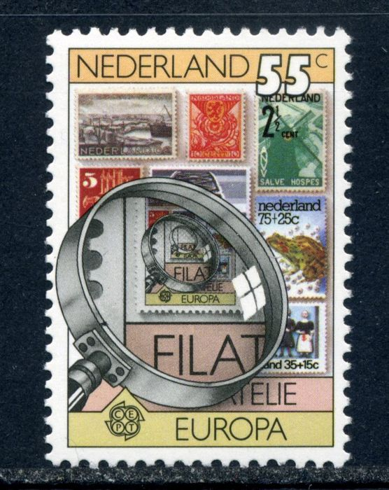 Pays-Bas 1979 - Europa stamp with plate error - NVPH 1179 P