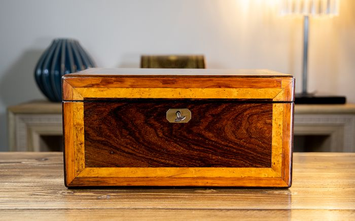 Victorian Table Box - Rosewood - 19th century