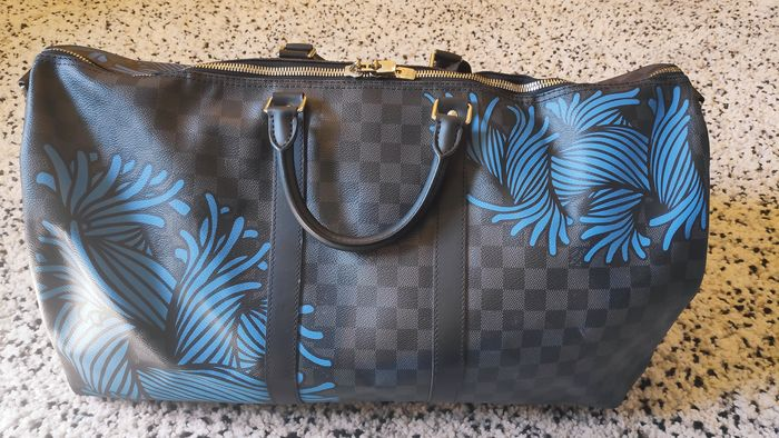 Louis Vuitton - Keepal 55 Rope by Christopher Nemeth - Travel bag