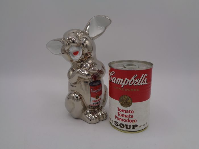 Andy Warhol & Rosenthal - Lachender Hase (Campbell Soup)