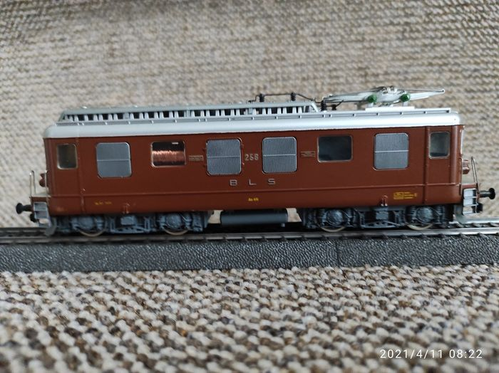 EMAG H0 - EMAG (with HAG motor) - Electric locomotive - Ae 4/4 - BLS