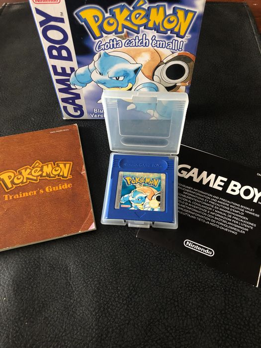 Nintendo game boy Pokémon Blue Version complete!!! Gameboy Classic - Videogames - In originele verpakking