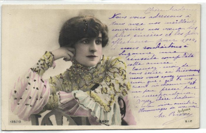France - Theater stars - Stars from mainly the Parisian theater such as the Moulin Rouge - many from - Postcards (Collection of 77) - 1900-1910