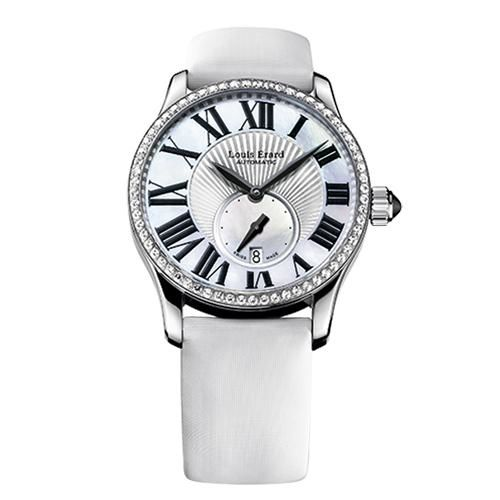 Louis Erard - Excellence Diamonds Small Seconds Date White Strap - 92602SE01.BDS93 - Mujer - 2011 - actualidad
