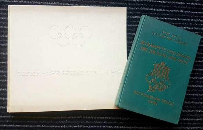 Olympic Games - 1936 - Book, This is how the youth of the world fought and won - Olympic Games Berlin 1936 - Lot