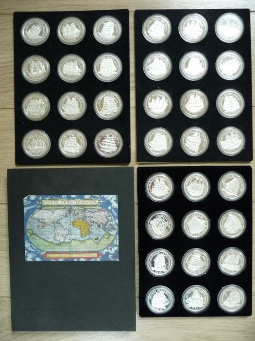 Germania. Silver medal 1994 Windjamme / Sailboat of the World / Voilier du Monde - 36 x 1 Oz