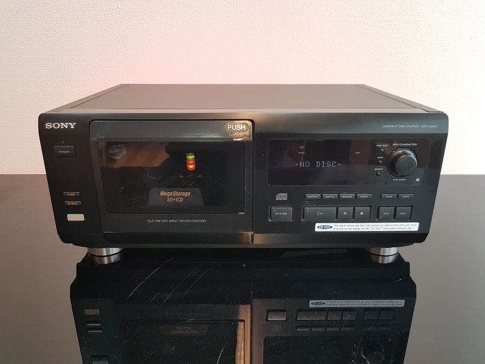 Sony - CDP-CX55 - 50-CD wisselaar - CD Player