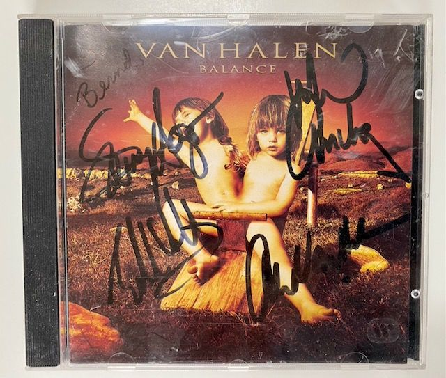 Van Halen - Balance - Signed by all members - CD - 1995/1995