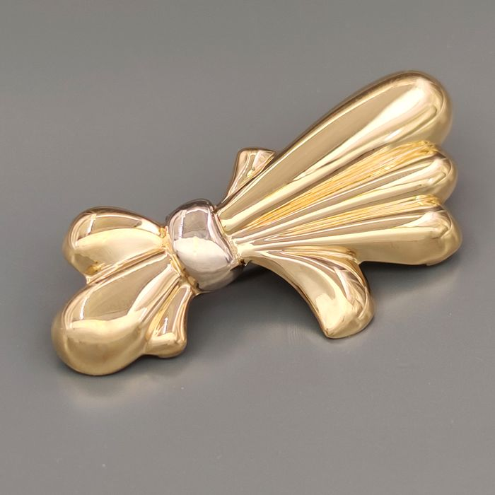 18 carats Or blanc, Or jaune - Broche